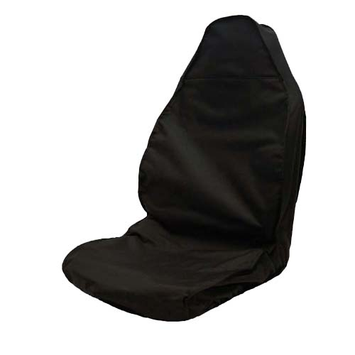 Black Heavy Duty Semi Tailored Driver Seat Cover