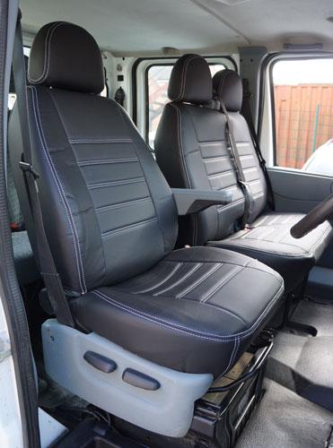Ford Transit Mk7 Double Passengers Seat 2006 2013 Van
