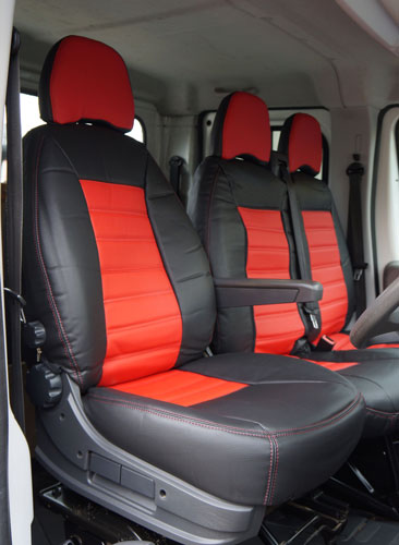 Luxury Faux Leather Van Seat Covers