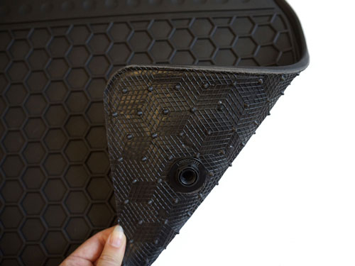 Moulded Rubber Van Mats - Anti-Slip Backing