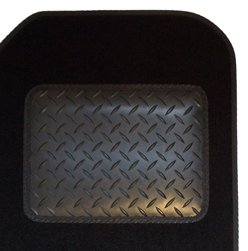 Rubber Heelpad Protection Example