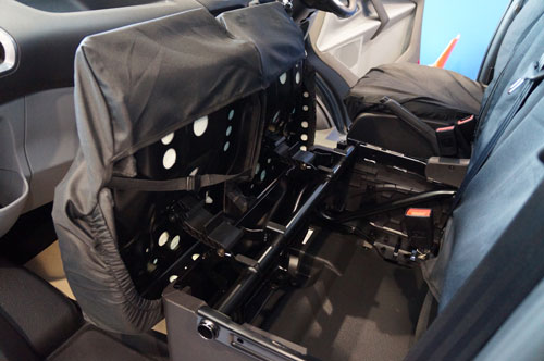 Ford Transit Custom (2013-Present) Tailor-made Van Seat Covers - Fitting
