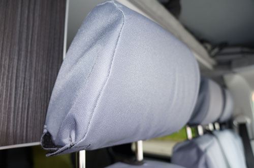 VW T5 Tailor-made Van Seat Covers - Headrests