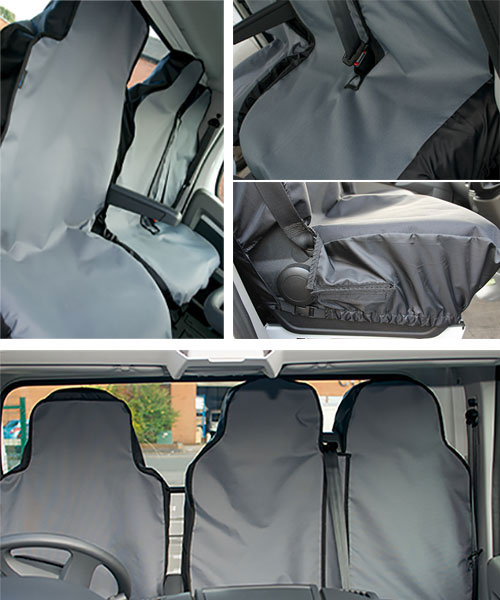 Peugeot Boxer 2006 - 2018 Van Seat Covers From £22.99