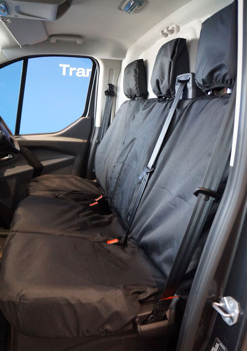 Inteligentny Ford Transit Custom (Single Cab) 2016 - 2018 Van Seat Covers From ZY63