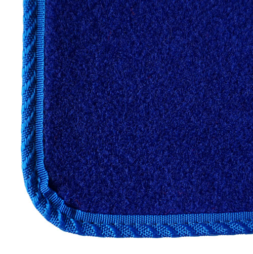 Blue Van Mats Carpet Example