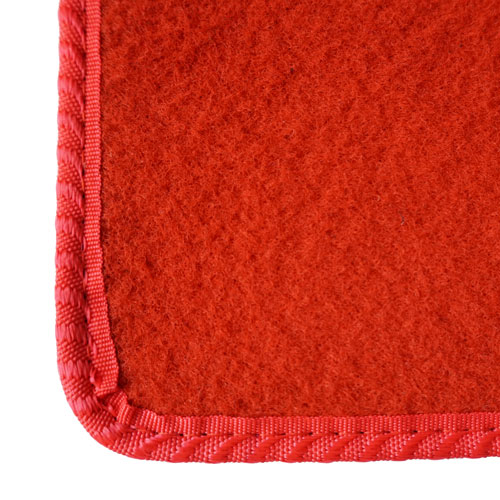 Red Car Mats Example
