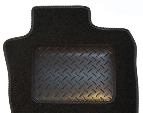 Iveco Daily Crew Cab 2007 - 2009 Rubber Heel Pad example