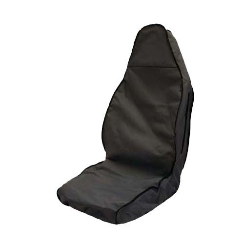Grey Heavy Duty Semi Tailored Driver Seat Cover
