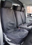 Black T4 T5 T6 Tailored Seat Covers