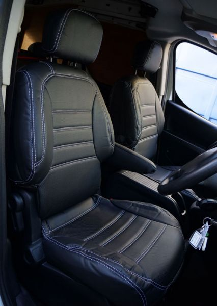 Custom Fit Faux Leather Van Seat Covers