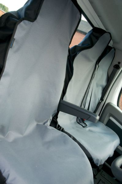 Drivers and Twin Passenger Semi-Tailored Van Seat Covers