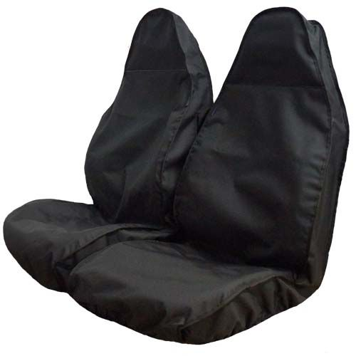 Black Semi Tailored Van Seat Covers
