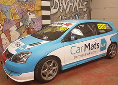 Car Mats UK Sponsor Race Car