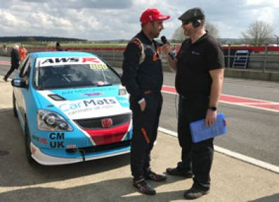 Car Mats UK Race Car - 1st race interview